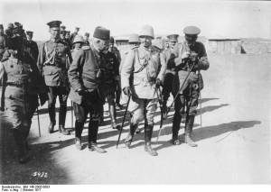 Kaiser Wilhelm II. auf Gallipoli