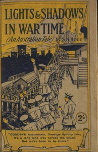 "Cover of ""Lights & Shadows in War Time"" by S. N. Hogg (photo: Dr. Spittel)"