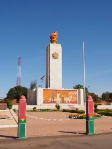 Monument place de la revolution Ouaga