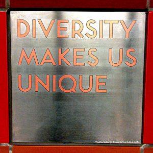 Diversity (photo: marc falardeau under CC BY 2.0)